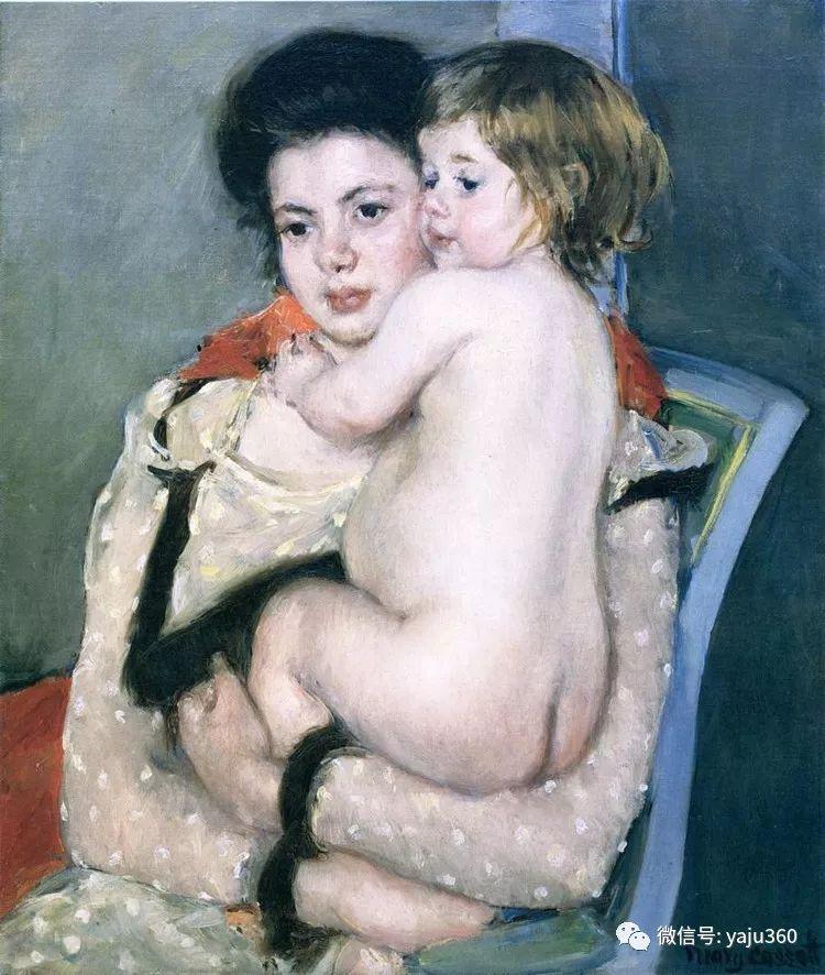美Mary Cassatt油画欣赏插图35