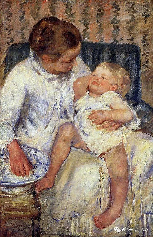 美Mary Cassatt油画欣赏插图37