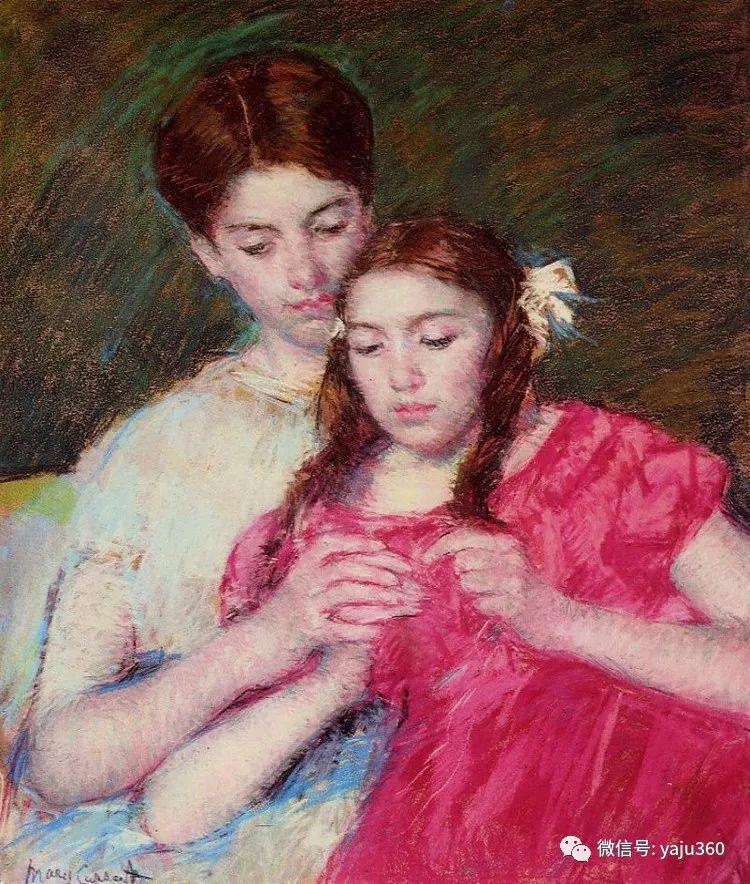 美Mary Cassatt油画欣赏插图39