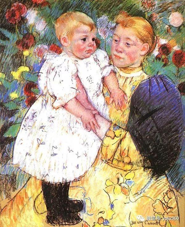 美Mary Cassatt油画欣赏插图41