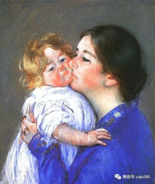 美Mary Cassatt油画欣赏插图43