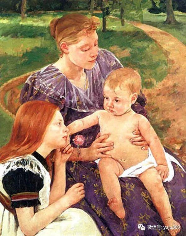 美Mary Cassatt油画欣赏插图45