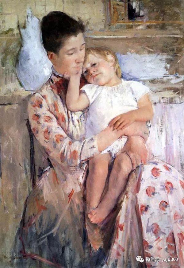 美Mary Cassatt油画欣赏插图47