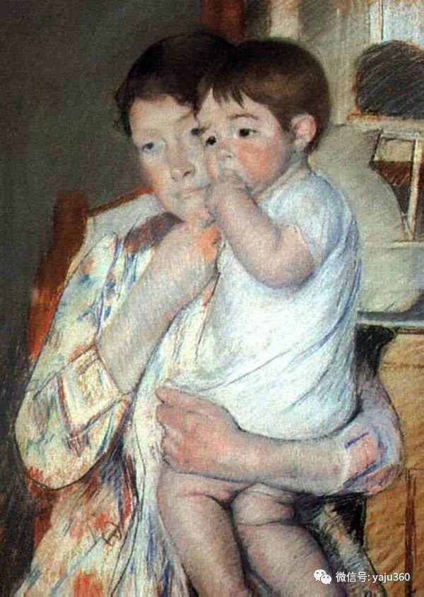 美Mary Cassatt油画欣赏插图49