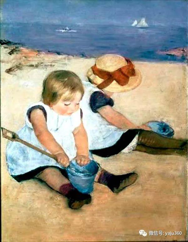 美Mary Cassatt油画欣赏插图53