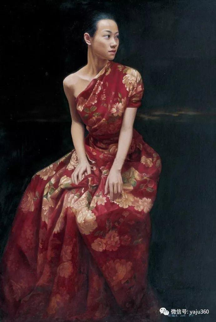 油画世界:刘湘东人物油画作品插图1