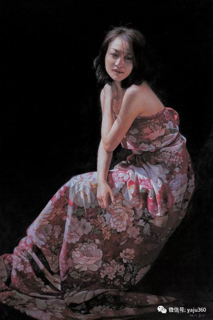 油画世界:刘湘东人物油画作品插图3