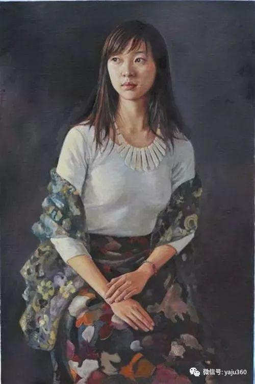 油画世界:刘湘东人物油画作品插图7