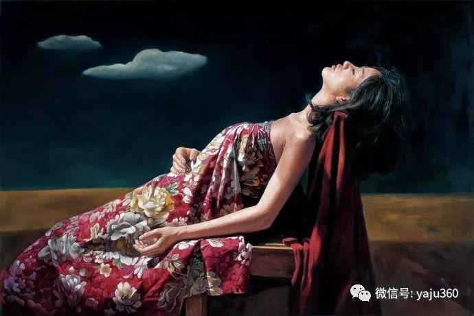 油画世界:刘湘东人物油画作品插图11