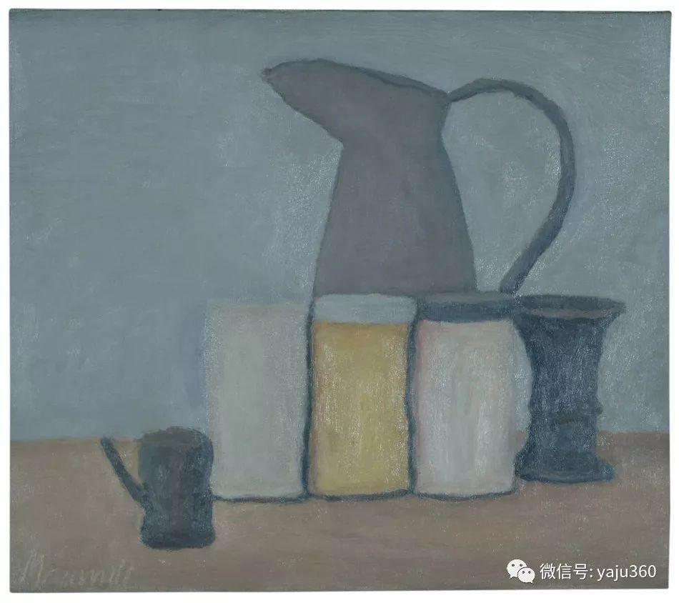油画世界:乔治·莫兰迪的静物画插图1