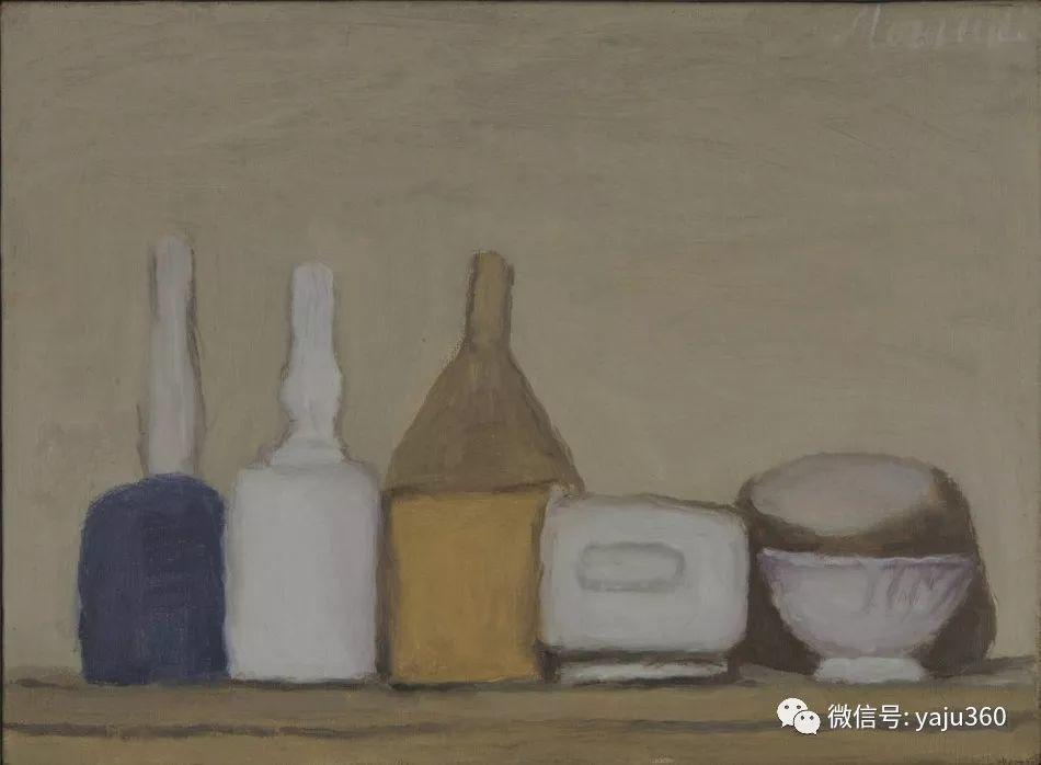 油画世界:乔治·莫兰迪的静物画插图7