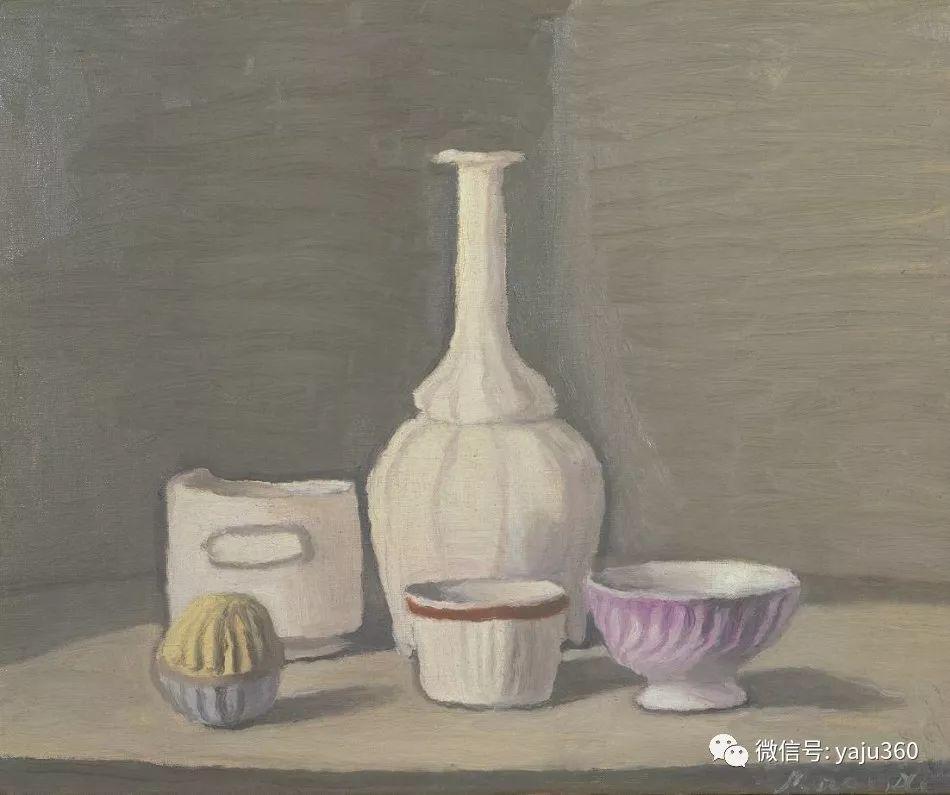 油画世界:乔治·莫兰迪的静物画插图13