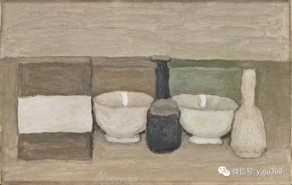 油画世界:乔治·莫兰迪的静物画插图23
