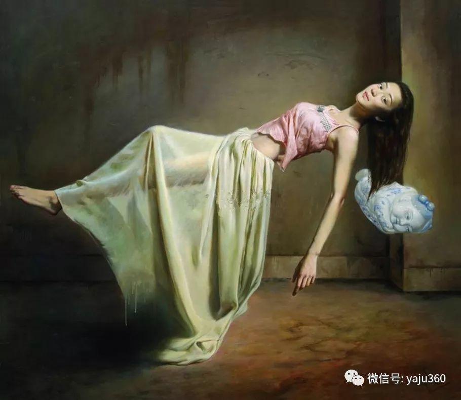 油画世界:苏新油画人物插图5