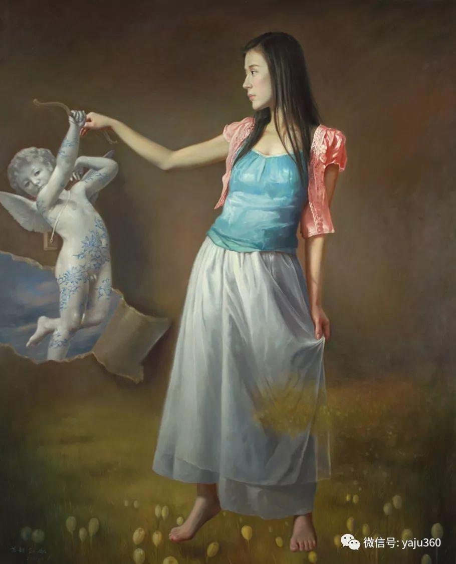 油画世界:苏新油画人物插图7