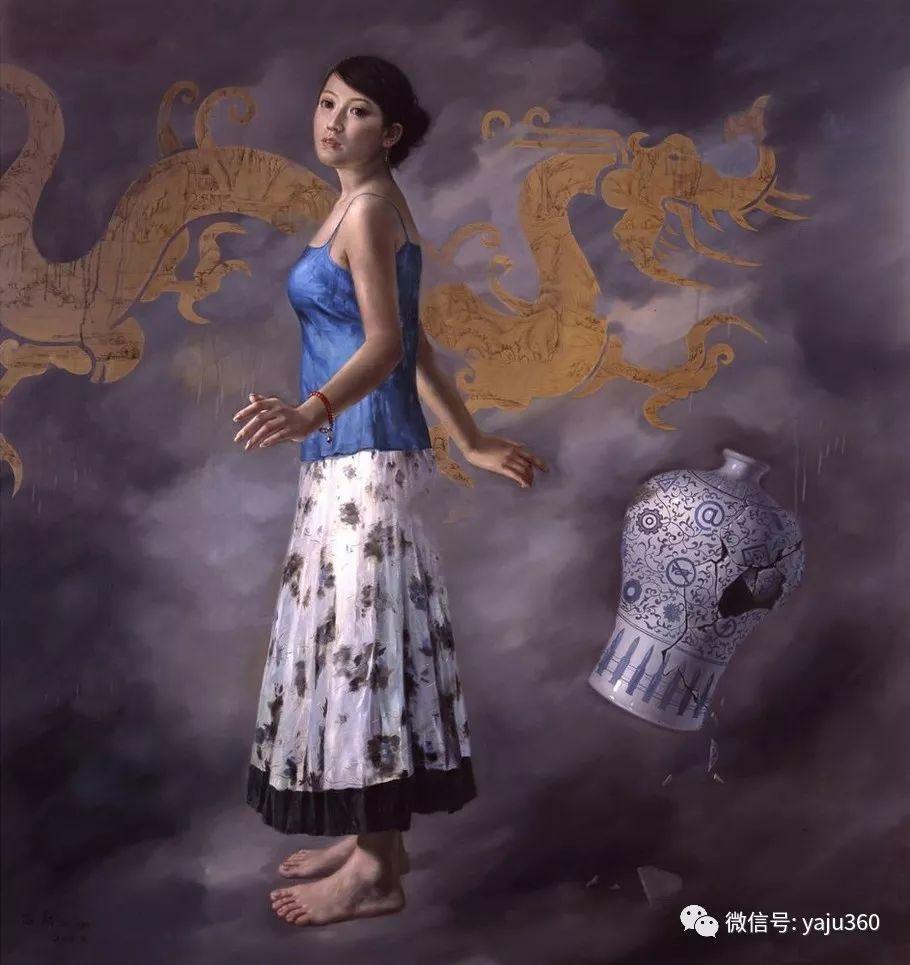 油画世界:苏新油画人物插图9