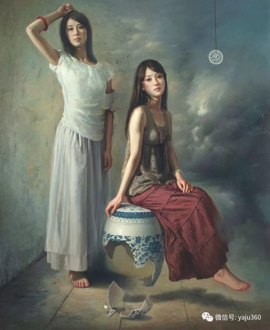 油画世界:苏新油画人物插图13