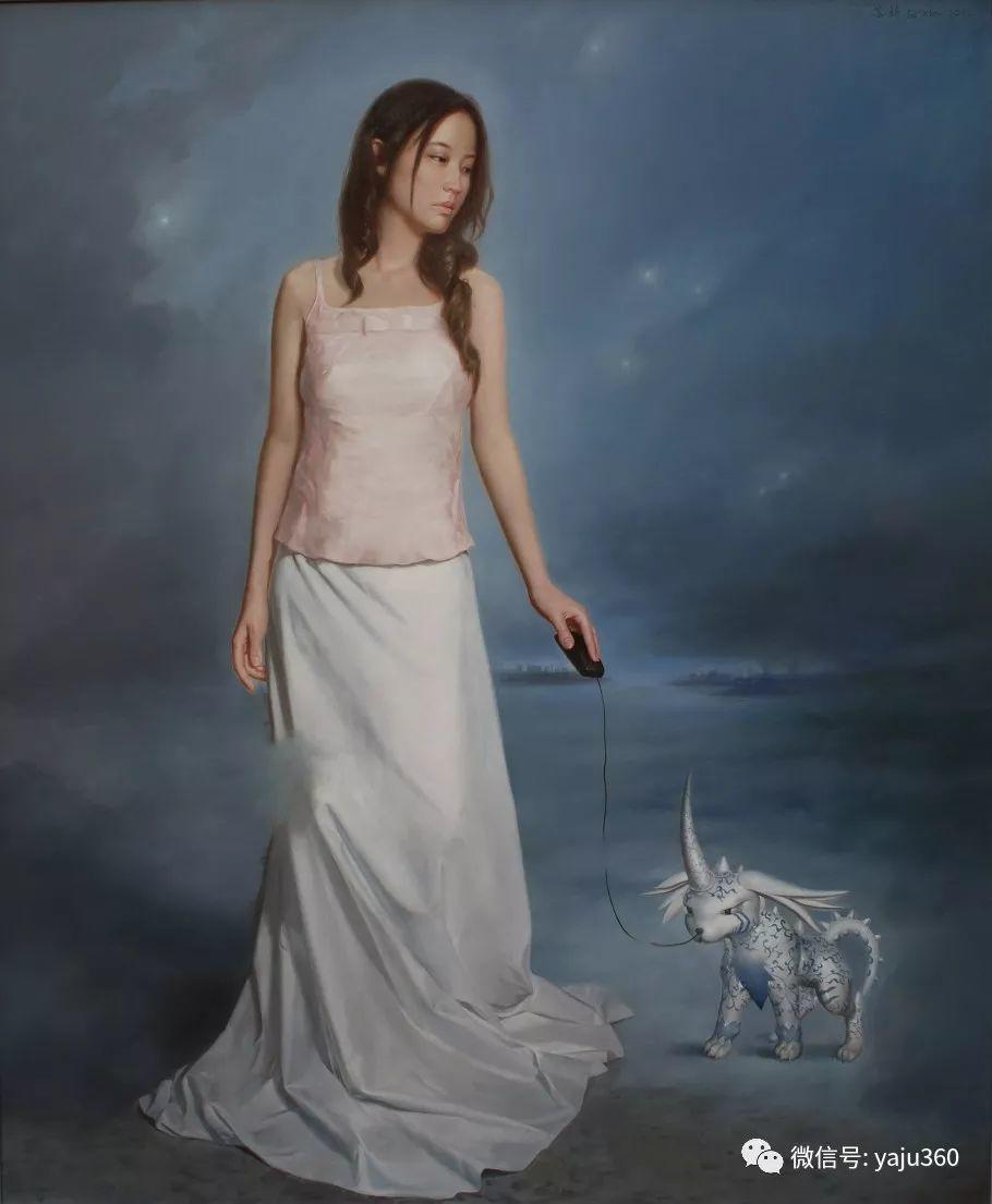 油画世界:苏新油画人物插图19