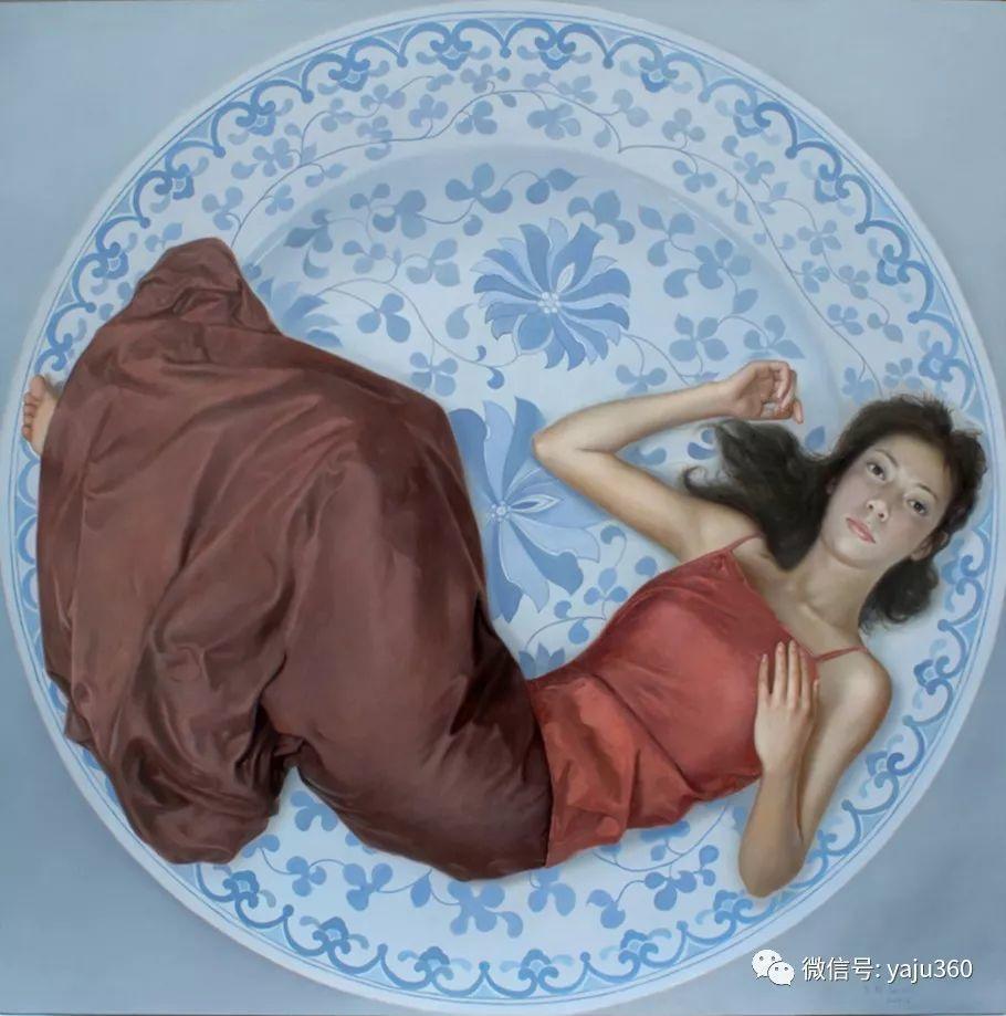 油画世界:苏新油画人物插图21