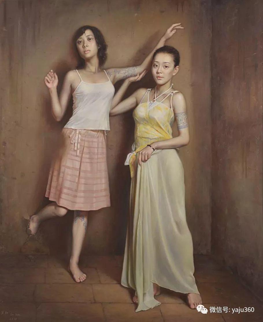 油画世界:苏新油画人物插图23