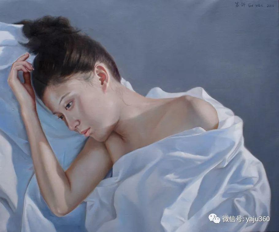 油画世界:苏新油画人物插图25