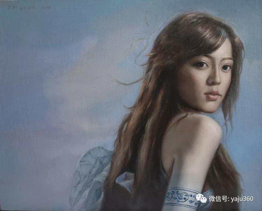 油画世界:苏新油画人物插图27