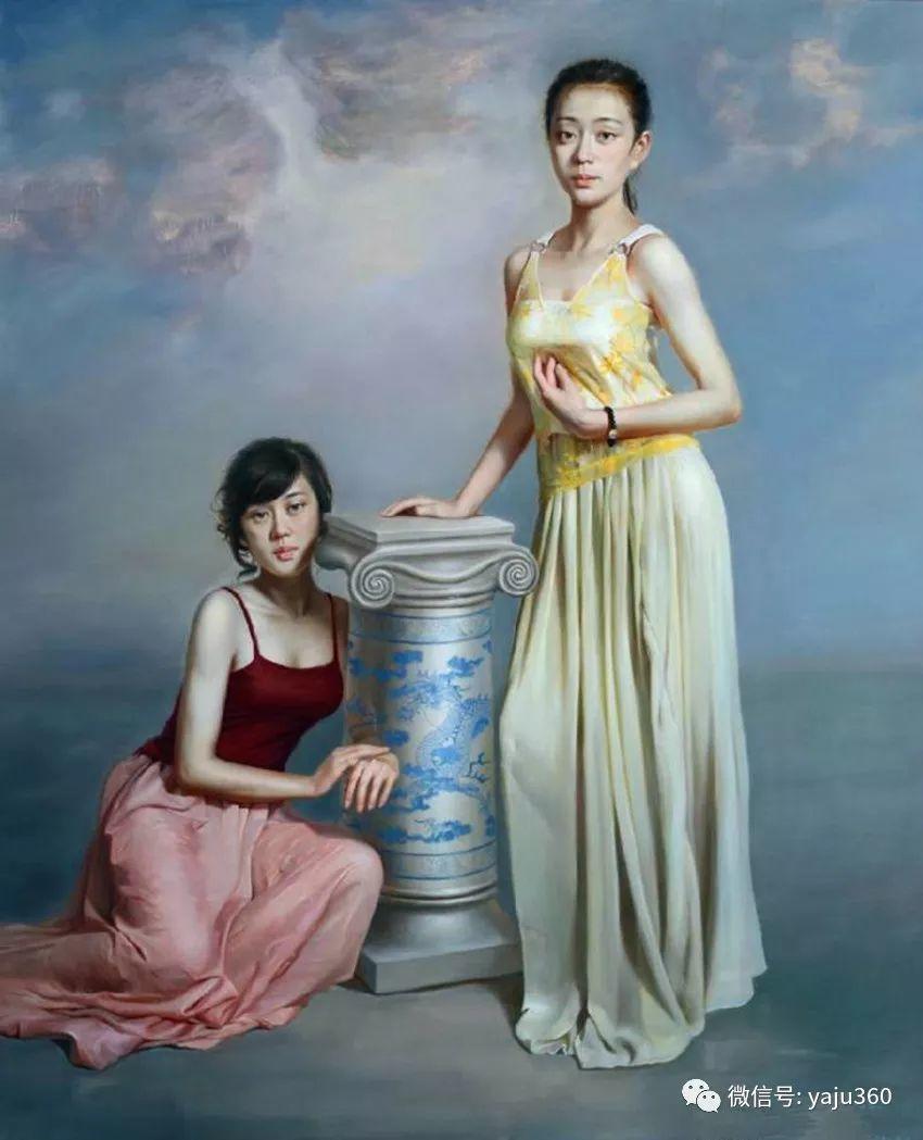 油画世界:苏新油画人物插图33