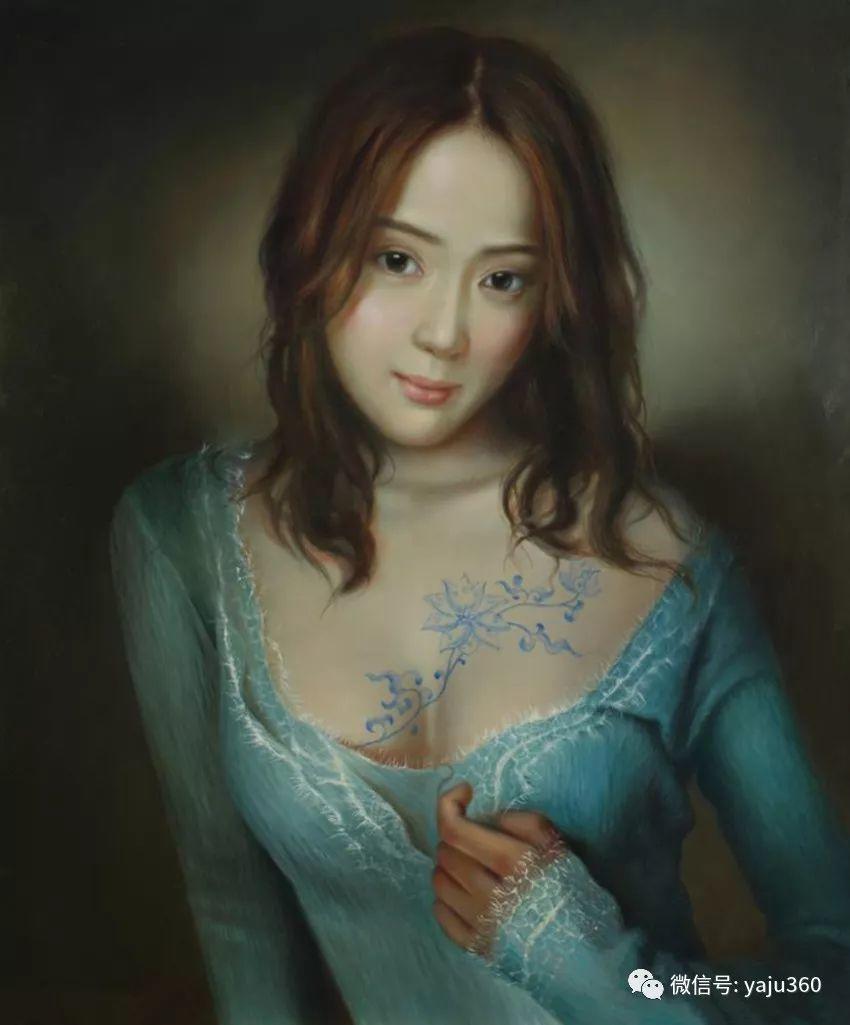 油画世界:苏新油画人物插图37