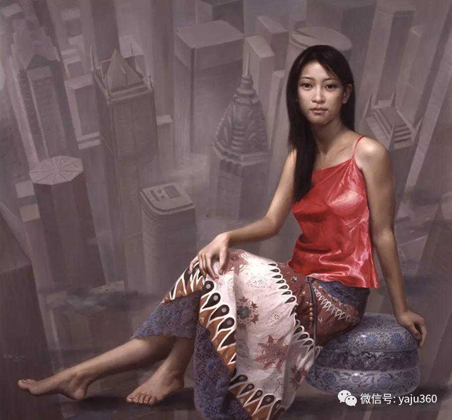 油画世界:苏新油画人物插图39