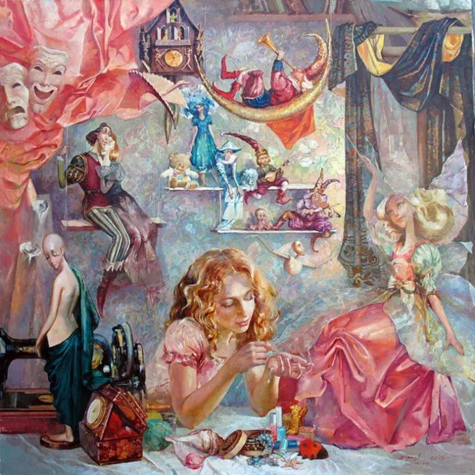 绘画欣赏–Lgor Zharkov插图1