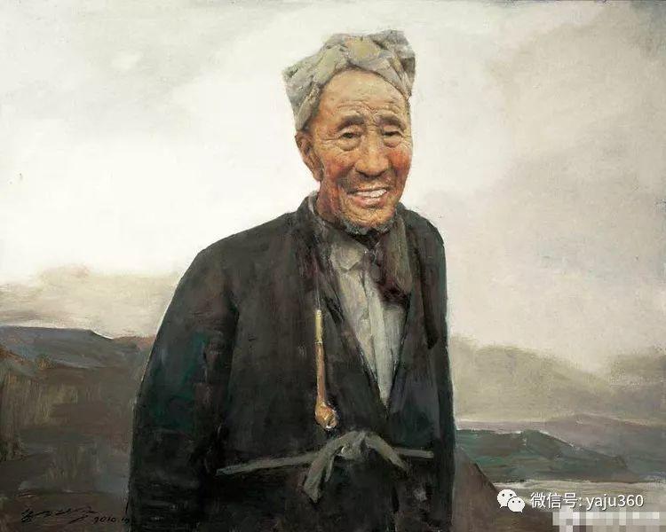 油画世界:郭北平人物油画插图9