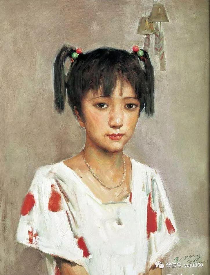 油画世界:郭北平人物油画插图15
