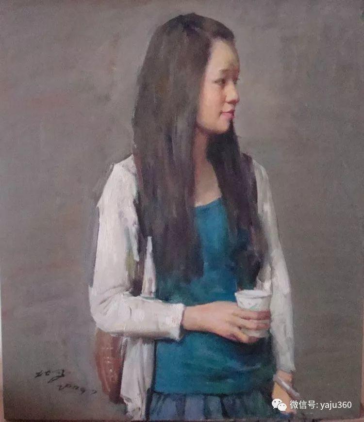 油画世界:郭北平人物油画插图29
