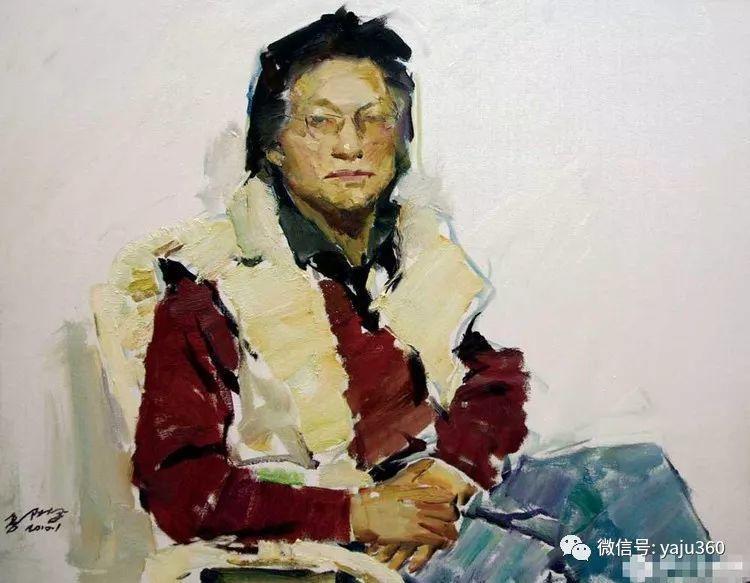 油画世界:郭北平人物油画插图43