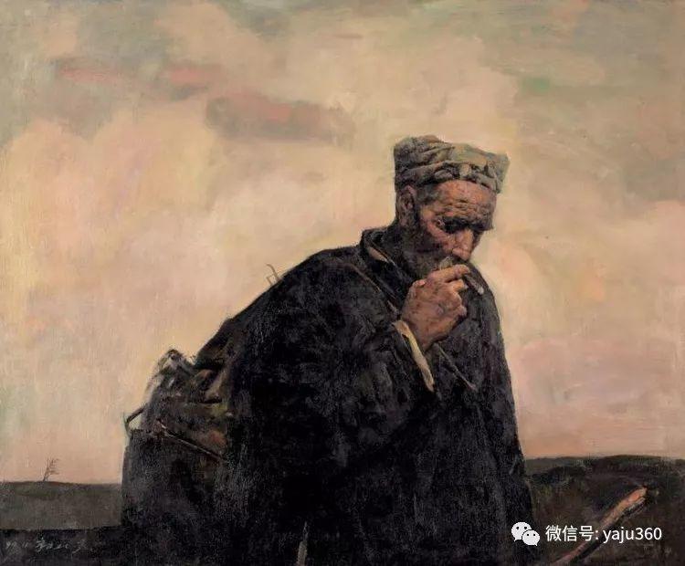 油画世界:郭北平人物油画插图55
