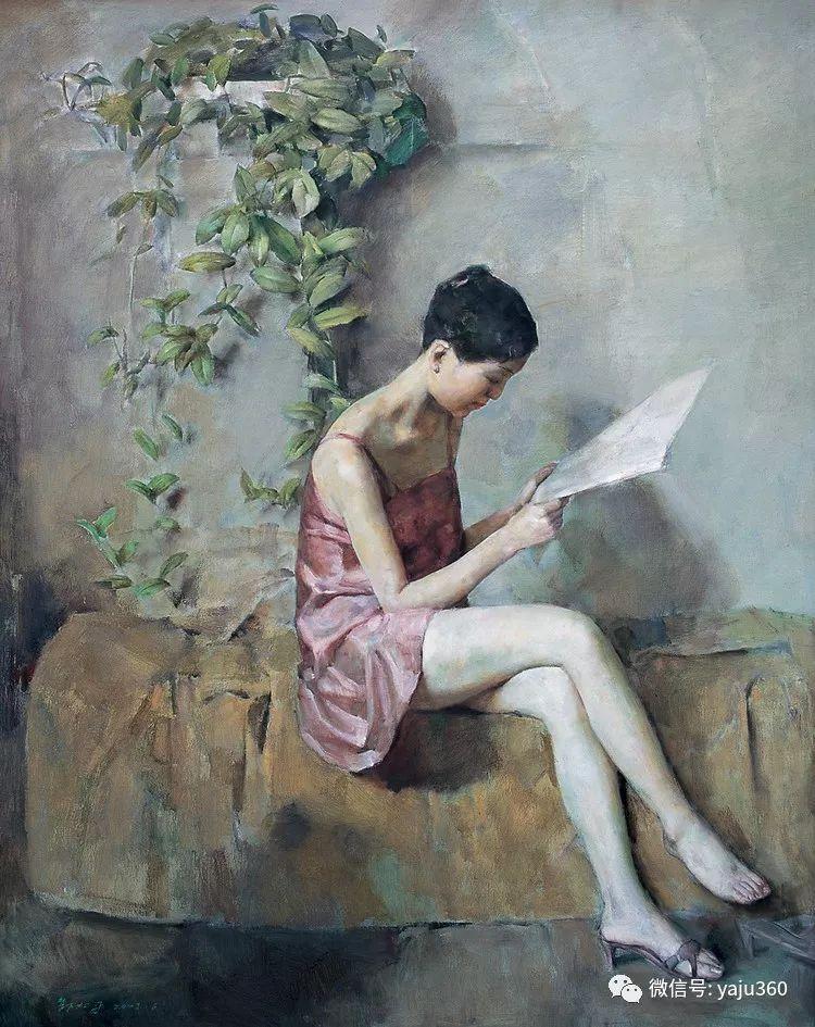 油画世界:郭北平人物油画插图59