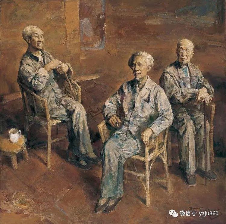 油画世界:郭北平人物油画插图63