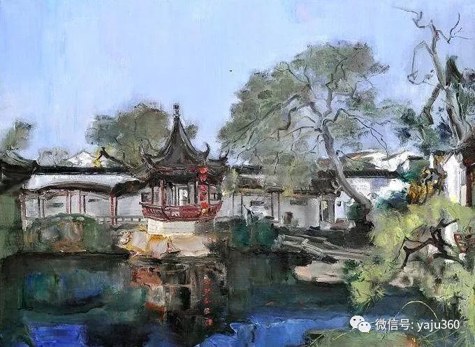 油画世界:袁文彬风景油画作品插图47
