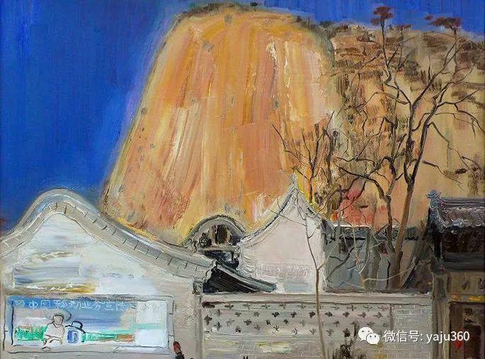 油画世界:袁文彬风景油画作品插图83