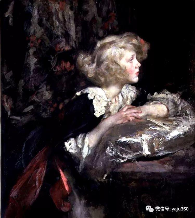 美国画家詹姆斯·杰布莎·香农人物油画欣赏一插图4