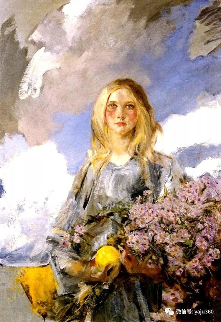 美国画家詹姆斯·杰布莎·香农人物油画欣赏一插图14