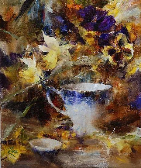 花与色的盛宴 劳拉·罗布作品插图1