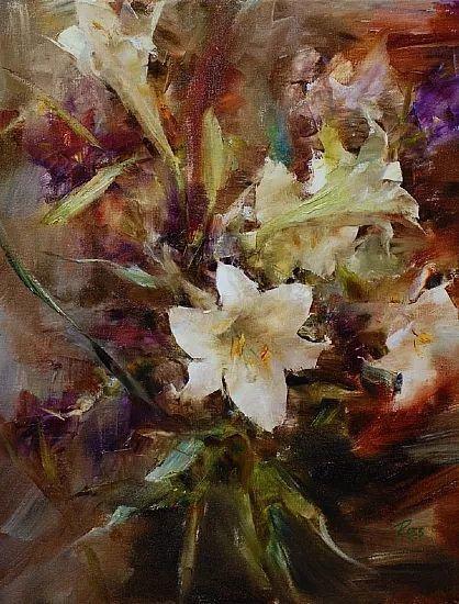 花与色的盛宴 劳拉·罗布作品插图2