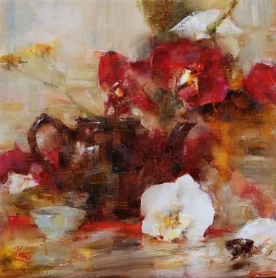 花与色的盛宴 劳拉·罗布作品插图5