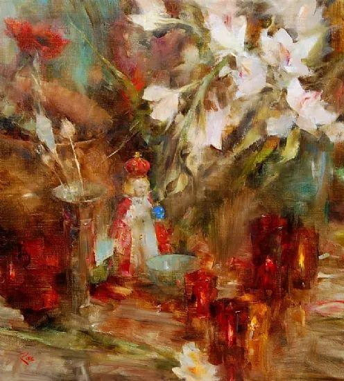 花与色的盛宴 劳拉·罗布作品插图6