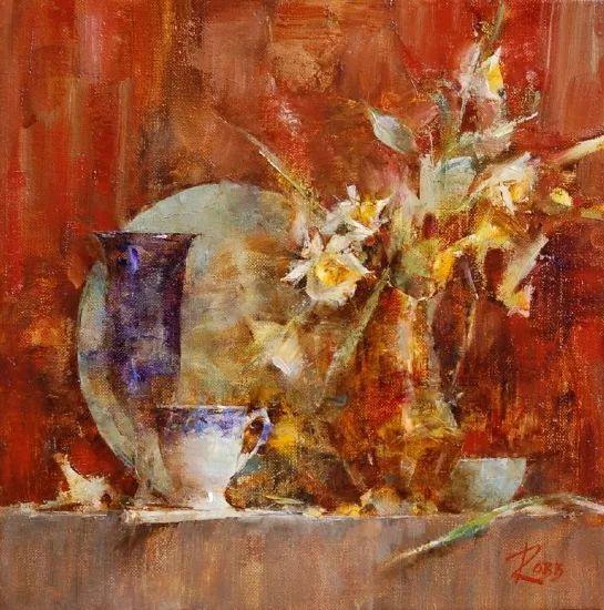 花与色的盛宴 劳拉·罗布作品插图7