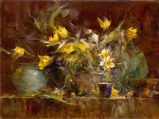 花与色的盛宴 劳拉·罗布作品插图9
