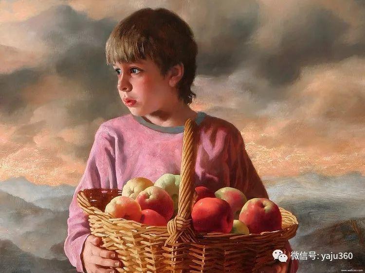 俄罗斯阿森·卡巴诺夫人物油画作品三插图10
