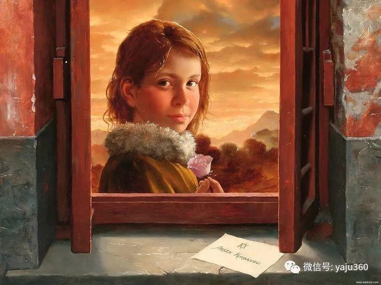 俄罗斯阿森·卡巴诺夫人物油画作品三插图12