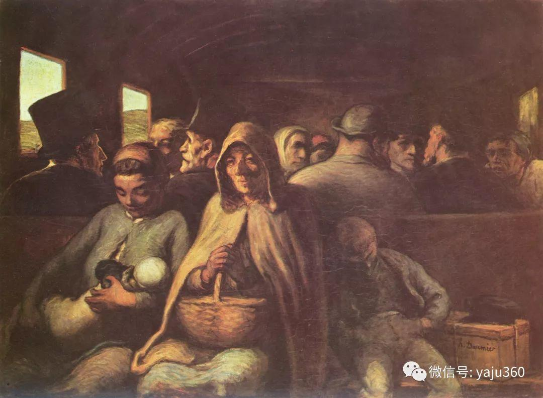油画世界:法国Honoré Daumier油画作品插图1